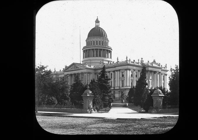 'California, Sacramento. State Capital Building, copyright Kingston Museum and Heritage Service, 2010'