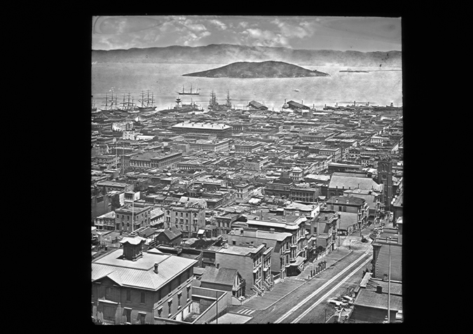 'San Francisco Panorama, copyright Kingston Museum and Heritage Service, 2010'