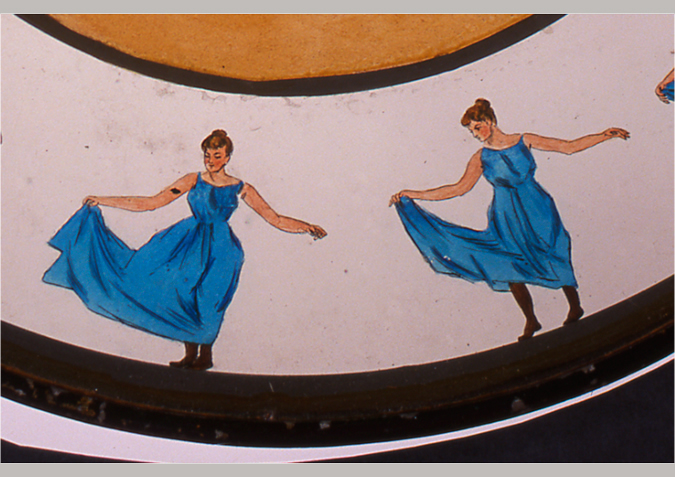 'Woman. Dancing, copyright Kingston Museum and Heritage Service, 2010'