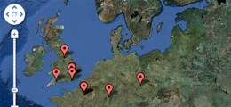 Thumbnail of Muybridge database map view